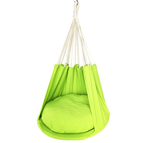 BHORMS Triangle Kids Swing Chair Hammock Chair Adult Hanging Chairs for Indoor and Outdoor Use by BHORMS