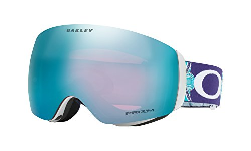 Oakley Flight Deck XM Prizm Snow Goggles Jamie Anderson Wanderlust Ice with Prizm Snow Sapphire by Oakley