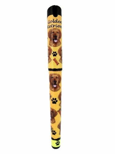 Image of E&S Pets Golden Retriever Pen Easy Glide Gel Pen, Refillable With A Perfect Grip, Great For Everyday Use, Perfect Golden Retriever Gifts For Any Occasion