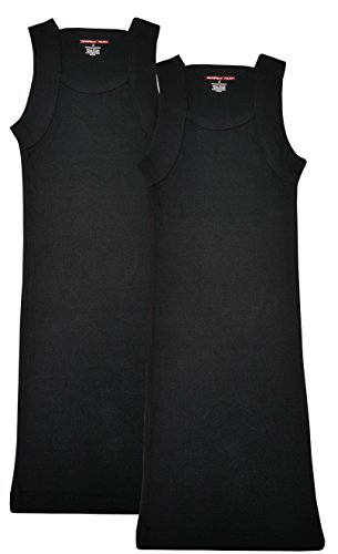 Mens+Tank+Tops Products : Different Touch Men's G-unit Style Tank Tops Square Cut Muscle Rib A-Shirts, Pack of 2