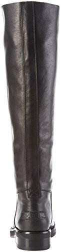 Nero 45cm Arricciati Shabbies High Donna Boot 3 Shabbies Sole Stivali Farah 5cm Amsterdam Black Black Heel nf670w
