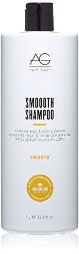 (AG Hair Smoooth Sulfate-Free Argan & Coconut Shampoo)