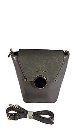 Vernika Bag For Women,Grey - Crossbody Bags