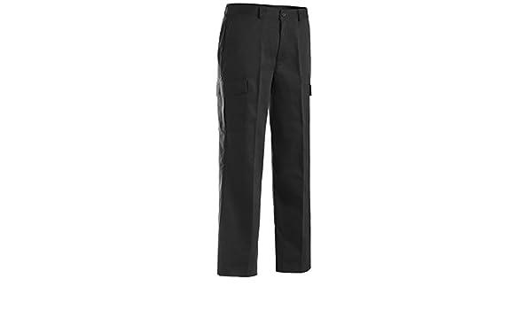 Ed Garments MenS 2575 One Back Pocket Dress Pants Black 30-29