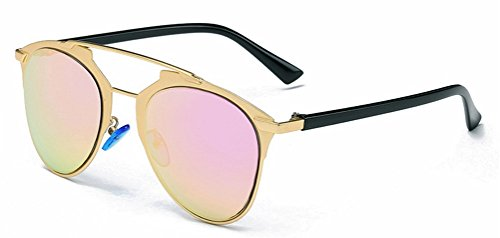 GAMT Vintage Metal Frame Colored Lens Aviator Sunglasses - Fake Glasses Amazon Reading