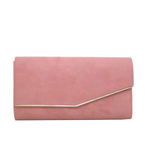 Asymétrique Small Femmes Rose Diva Cendré Haute Clapet Noir Pochette pour q7tt4wp