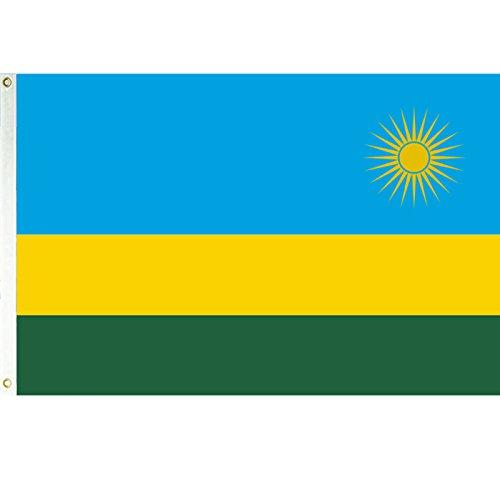 3x5 Rwanda Flag African Country Banner Republic Pennant
