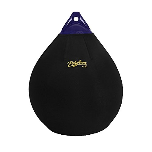 Polyform Fender Cover Black f/A-2 Ball Style
