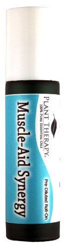 Muscle-Aid Synergy Pre-Diluted Essential Oil Roll-On 10 ml (1/3 fl oz). Ready to use!