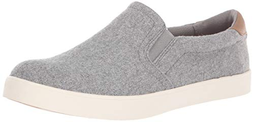 Dr. Scholl's Shoes Women's Madison Sneaker Light Grey Flannel Fabric 11 M US