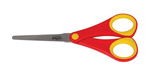 School Smart Blunt Tip Student Scissors, 6-1/4
