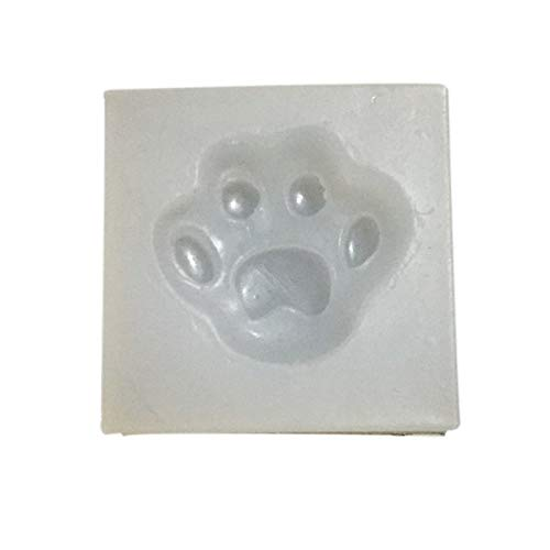 Shar Pei - Diy Silicone Mold Silicon Dog Paw Molding Jewelry Leisure Creative - Decorations Party Party Decorations Jewelry Vial Mold Soap Cake Necklace With Bottle Puppy Shape Pendant -