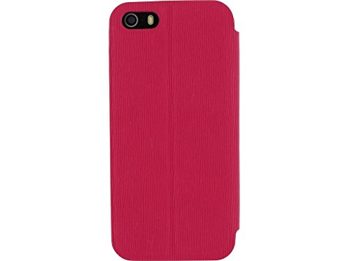 Mobilize Camera-Fold Magnet Book Case Apple iPhone 5/5S Matt Fuchsia