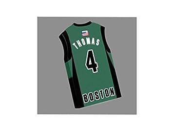 NBA - imán para nevera en forma de camiseta de tu selección favorita. Personalización gratuita: cualquier nombre, cualquier número.
