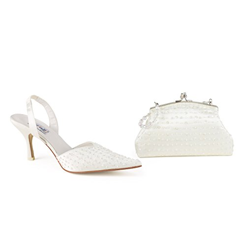 FARFALLA - Zapatos con correa de tobillo mujer Dorado - marfil