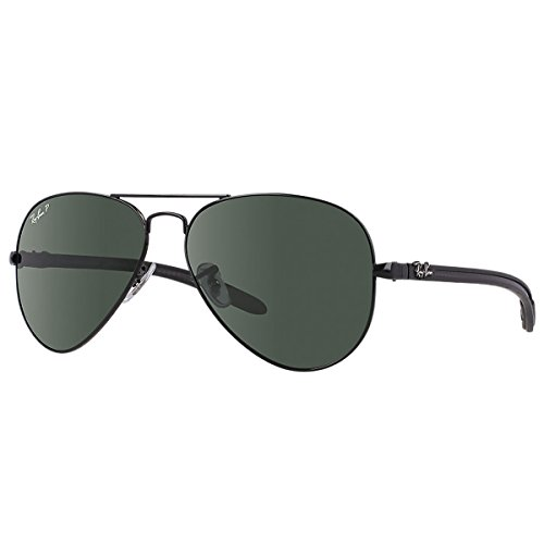 ray ban aviator branche carbone