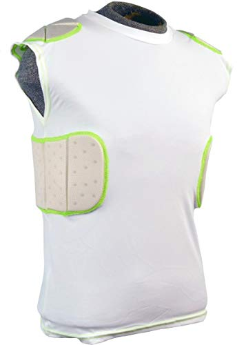 Douglas Youth Integrated Padded Football Shirt - S (Jersey Football Body)