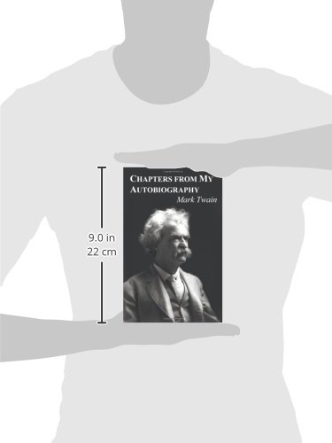 Chapters From My Autobiography Mark Twain 9781849023436 Amazon