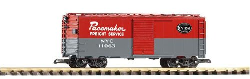 PIKO G SCALE MODEL TRAINS - NYC PACEMAKER STEEL BOXCAR, used for sale  Delivered anywhere in USA