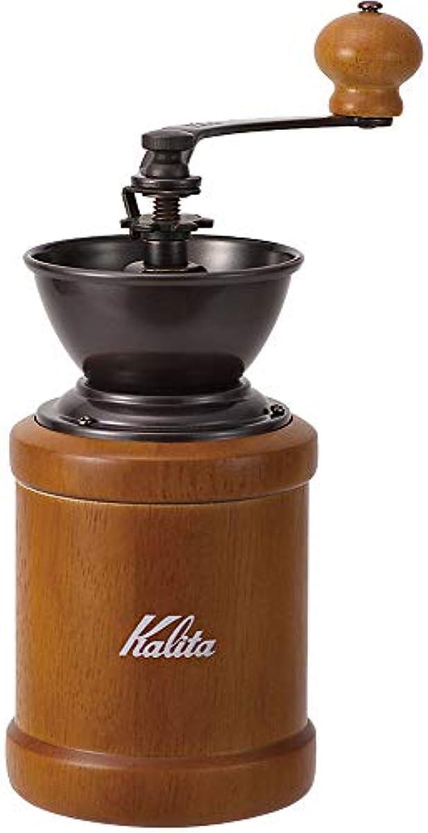 [해외] 【AMAZON.CO.JP한정】칼리퍼터 KALITA 커피 밀 손만 와 브라운 KH-3BR #42078