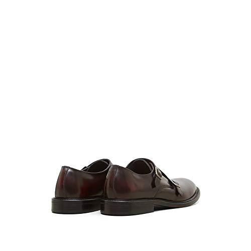 Round New Men's Cole Bordeaux Shoe Kenneth Toe Monk York Double tgw8tq1Fp