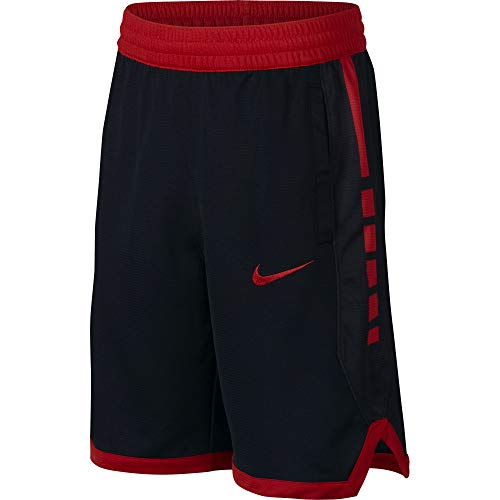 Nike Boy's Dri Fit Basketball Shorts Black/University Red Size Small