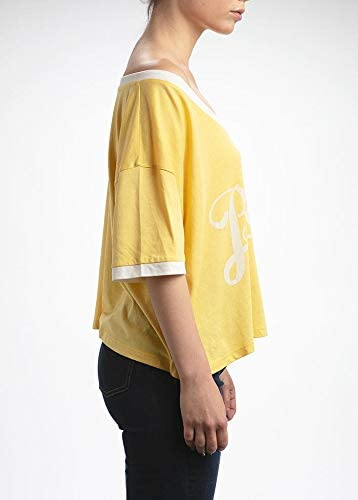 Adult XS-L 9-16 Years Teenzshop Girls T-Shirt Yellow Blondie-Brunette Retro T-Shirt