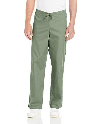 Dickies Men's EDS Signature Unisex Drawstring Scrub Pant, Olive, Medium - Signature Drawstring Pants