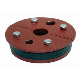 """6"""" x 1-1/4"""" Cast Iron Well Seal Split Top for 6"""" Well Pipe Fits 1-1/4"""" Single-drop Pipe"""
