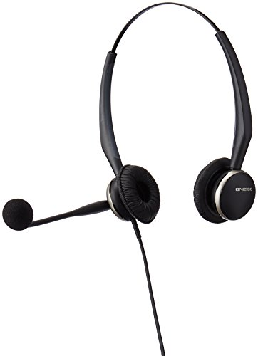 Jabra GN2125 Duo Corded Quick Disconnect Headset for Deskphone, Softphone or Mobile Phone by Jabra