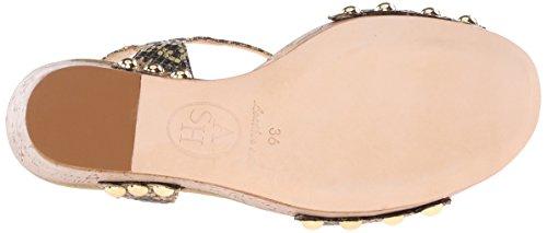 9 Fashion EU ASH M Black Gold Biba US Ant Women's Sneaker 39 EpRxwZx0q