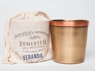 Found Goods市場 – Homesteadコレクションin aコットンバッグ – Veranda B012OMPIYE