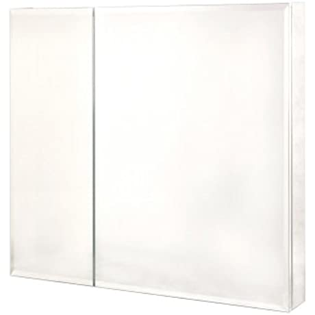Pegasus SP4586 30 Inch By 30 Inch Bi View Beveled Mirror Medicine Cabinet Clear