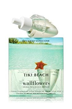 Tiki Beach Wallflowers Lot of 10 Refills - Bath & Body Works Discontinued Scent!