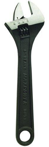 6 Inch Black Phosphate Adjustable Wrench