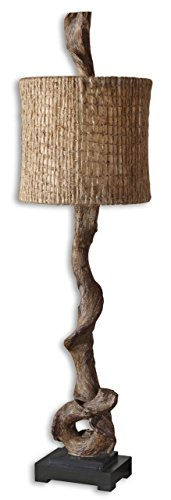 Intelligent Designs Twisted Driftwood Rustic Table Lamp |...