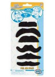 Toysmith 01980 Fake Moustaches Assorted Styles
