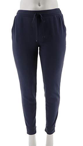 Isaac Mizrahi SOHO Jersey Knit Jogger Pants Night Indigo 2X New A271584 (Soho New Jersey)