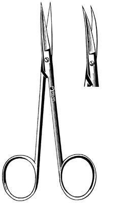 - 21-107 - Stainless Steel - Econo Iris Scissors, Floor Grade, Sklar - Pack of 12