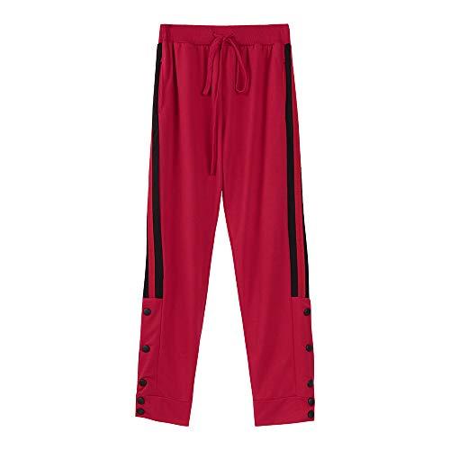Drawstring Pantalon Lâche Mode Fitness sport Pour rouge Slim B Hommes De Hommes Jogging Fit Casual Covermason Survêtement Pantalons qHw7Orqf