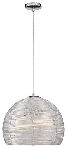 George Kovacs P652-077, Pendants Round Pendant, 3 Light, 105 Total Watts, Chrome 077 George Kovacs Pendant