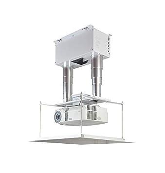 CGOLDENWALL Soporte de Techo para proyector eléctrico con rotación ...