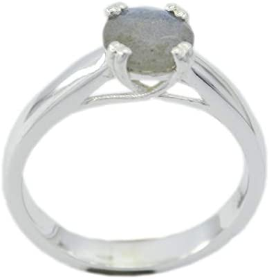 Labradorite Multi Stone Silver Ring Easily 925 Sterling Silver Handsome Genuine Multi Ring
