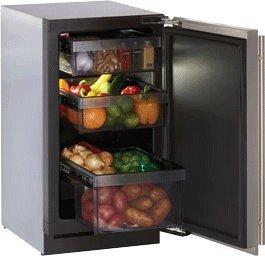 Modular 3000 Series 3.4 Cu. Ft. Single Door Refrigerator Hinge: Right, Door Panel: Stainless Steel