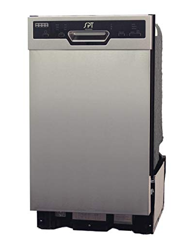 SPT SD-9254SS: Energy Star 18 w/Heated Drying - Stainless Built-in Dishwasher, Gray
