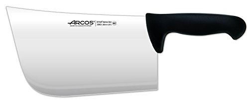 Arcos 10-Inch 250 mm 900 gm 2900 Range Cleaver, Black by ARCOS