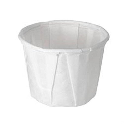 Solo Portion Cups - Solo 050-2050 0.5 oz Treated Paper Portion Cup (Case of 5000)