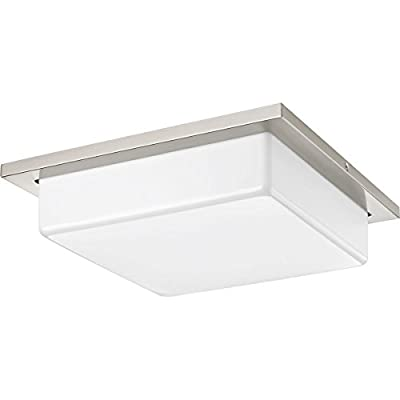 Progress Lighting P3417-0930K9 Transit 2 Light LED Flush Mount with AC Module, 14""