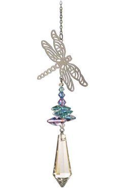 king Hanging Window Crystal Suncatcher by Hanging Crystals ()