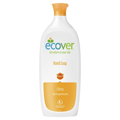 Ecover Hand Soap - Ecover - Hand Soap Refill - Citrus and Orange Blossom - 1L
